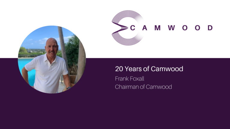 Camwood's Frank Foxall takes a trip down memory lane with a then to now interview