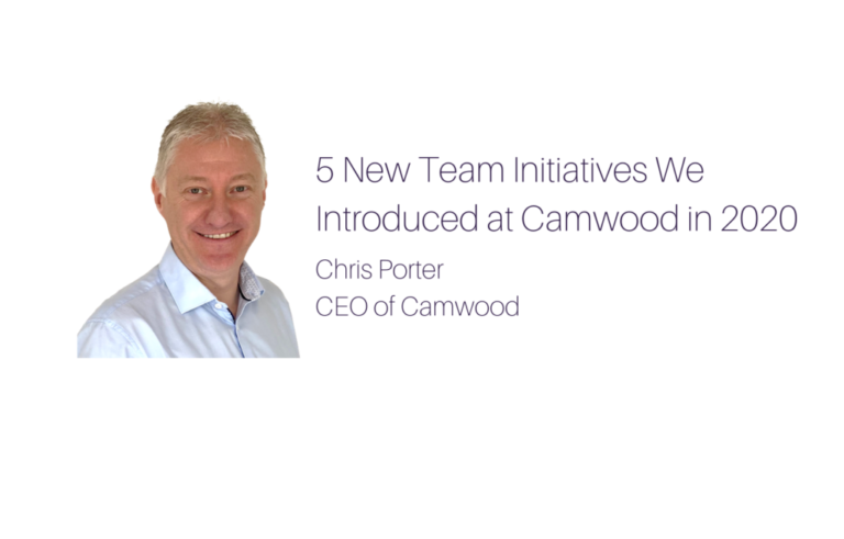 5 New Team Initiatives We Introduced at Camwood in 2020