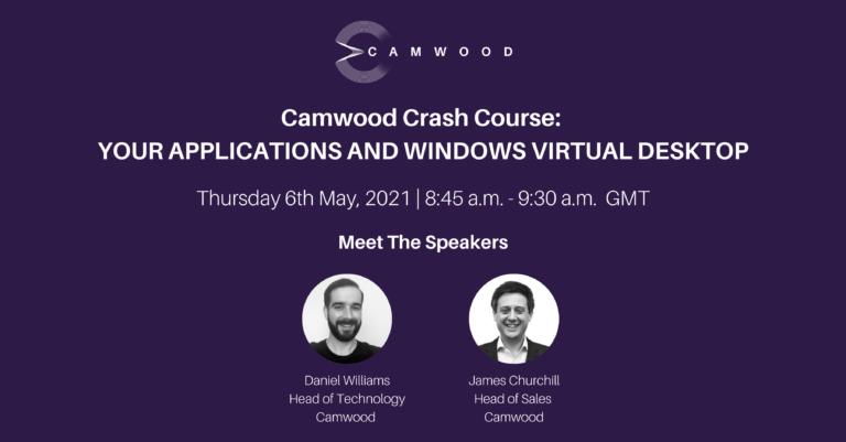 Webinar: Camwood Crash Course May: Your Applications and Azure Virtual Desktop
