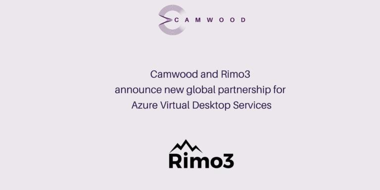 Camwood named Rimo3's Global Premium AVD Professional Services Partner